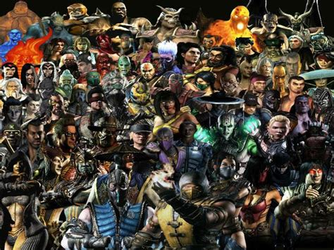 Mortal Kombat All Characters The Gallery For Gt Mortal Kombat Characters
