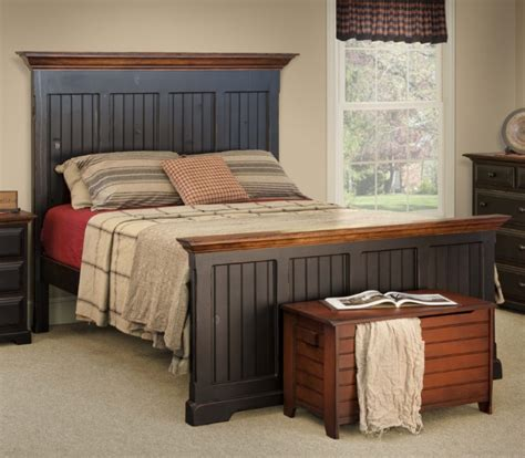 Bed Settings by Barn Board Farmhouse Bed Farmhouse And Cottage