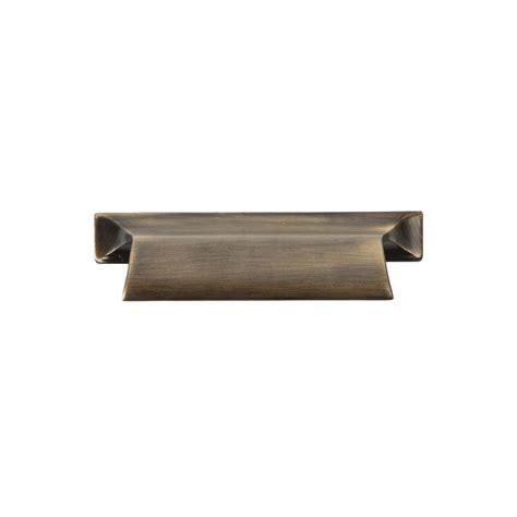 home depot cabinet hardware sumner street home hardware 2 3 4 in vintage brass pull