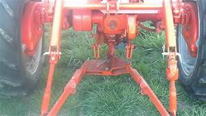 1951 Allis Chalmers Ca 3 Pt Hitch And Pto