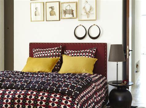 chambre couleur marron le style ethnique chic on vous explique décoration