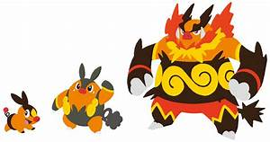 Tepig, Pignite and Emboar Base by SelenaEde on DeviantArt