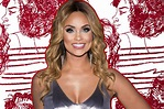 Real Housewives of Potomac Gizelle Bryant Glittery Red ...