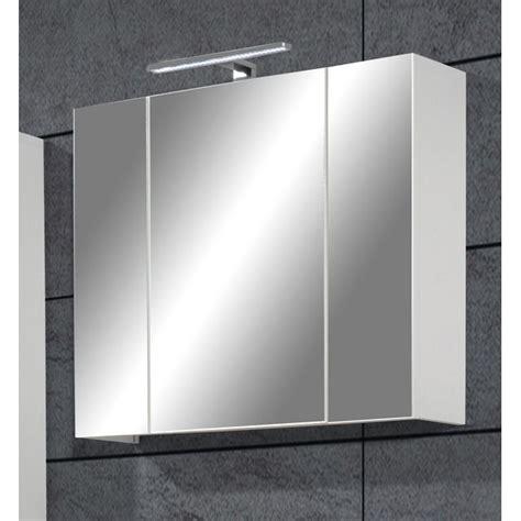 charmant armoire de toilette 1 porte avec miroir 4