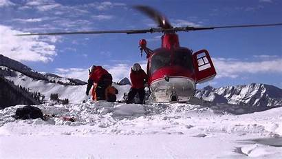 Rescue Avalanche Helicopter Hems Wasatch Backcountry