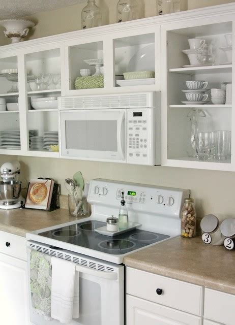 Open Shelving in Kitchen   Traditional   Kitchen   other