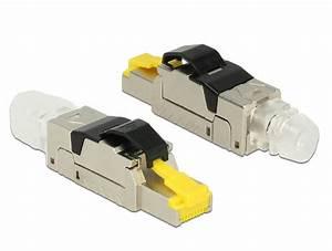 Cat 6 Stecker : cat8 modulaire rj45 stekker modulaire rj45 stekker zwart type cat 8 afgeschermd ~ Frokenaadalensverden.com Haus und Dekorationen
