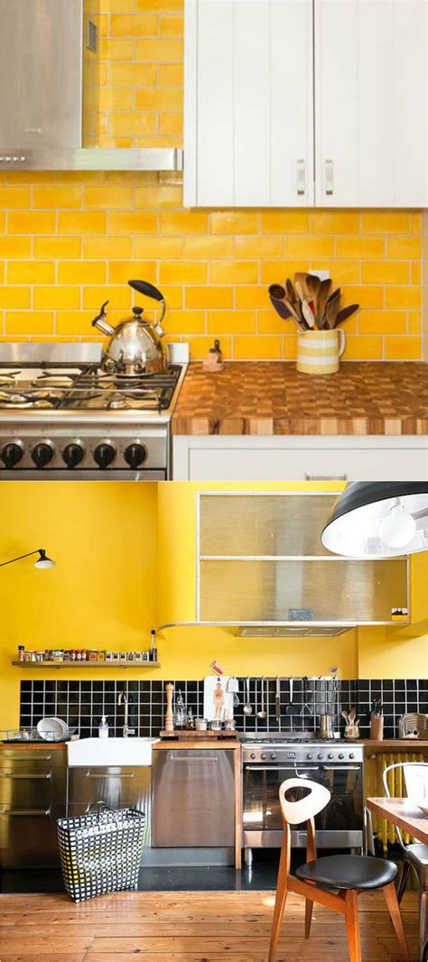 18+ Lovely Kitchen Ideas Yellow