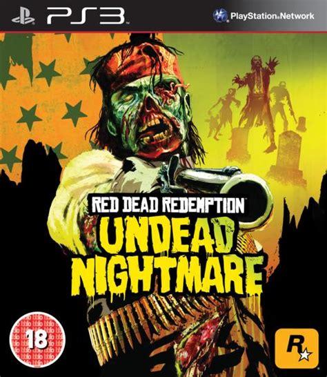 redemption dead ps3 undead nightmare games
