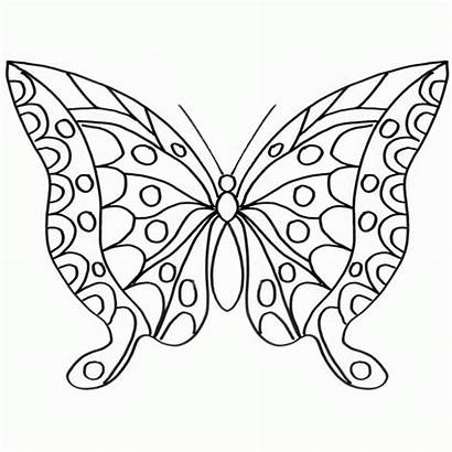 Mariposas Dibujos Colorear Imprimir