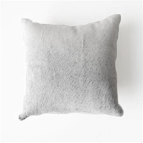 Cowhide Cushions Australia by Cowhide Cushion In Grey Hardtofind