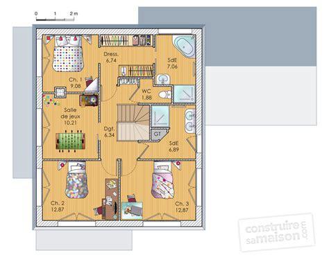 chambre avec dressing et salle d eau grande maison en bois à étage dé du plan de grande