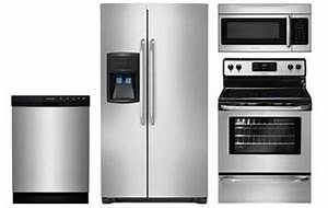 Frigidaire Stainless Steel Kitchen Appliance Package - Abt.com