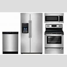 Frigidaire Stainless Steel Kitchen Appliance Package  Abtcom