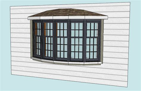 Bow Window Roof Idea  Windows, Siding And Doors