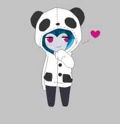 Panda Chibi Hoodie Base