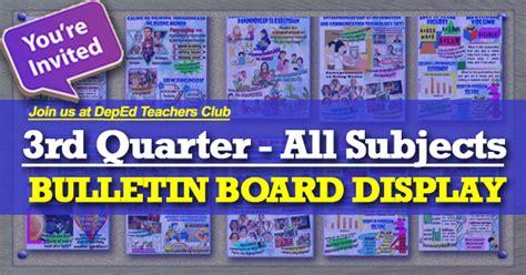 quarter bulletin board display compilation depedclub