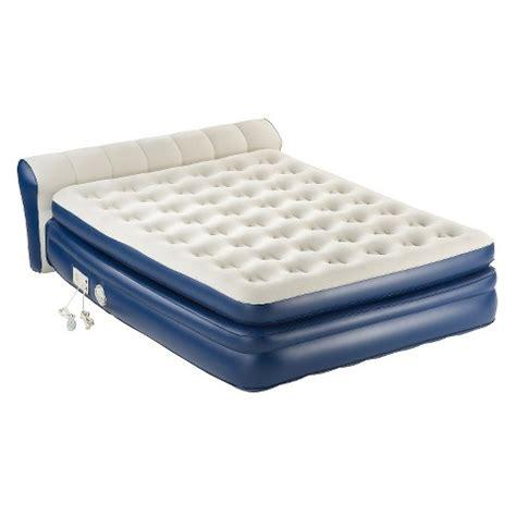 aerobed rollaway with headboard aerobed 174 premier air mattress high target