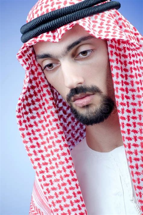 man  arab clothing stock photo colourbox