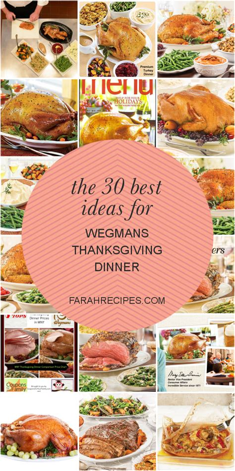 See actions taken by the people who manage and post content. The 30 Best Ideas for Wegmans Thanksgiving Dinner - Most ...
