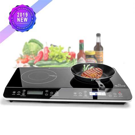lafraise duxtop ls lcd portable double induction cooktop  digital electric countertop