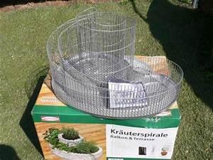 Kräuterspirale Für Balkon : bellissa kr uterspirale 57x42x29 cm kr uterschnecke ~ Michelbontemps.com Haus und Dekorationen