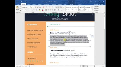 Resume Help Microsoft Word by Help For Resume Cv Template Cover Letter For Ms Word