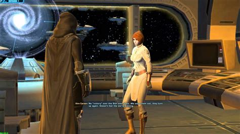 Swtor Jk Fourteenth Conversation With Kira Carsen