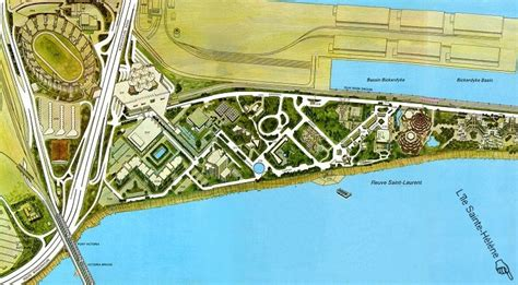 """Expo 67 3d Map Of """"la Cité Du Havre"""""""