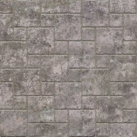 Concrete Paving Outdoor Damaged Texture Seamless 05498