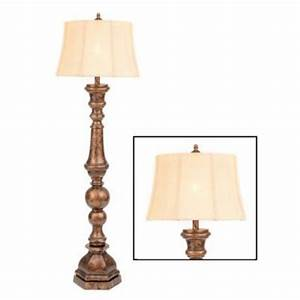 bronze harmon floor lamp kirkland39s With kirklands white floor lamp