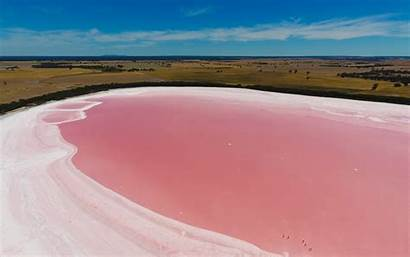 Lake Pink Australia Hillier Wiki Phenomena Fantastic