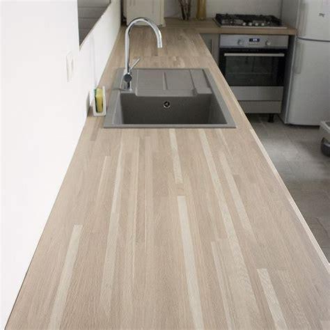 largeur plan de travail cuisine plan de travail chene massif pour tous vos projets bois