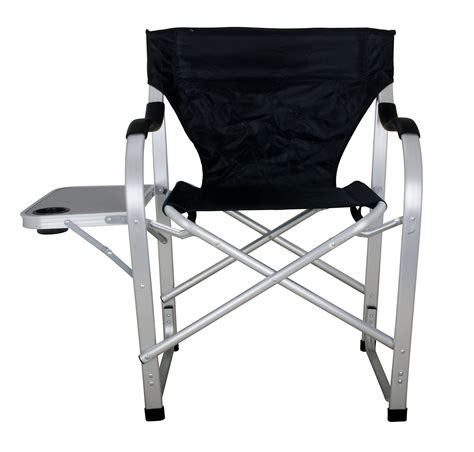 cing chair with side table heavy duty black director chair with side table ming 39 s