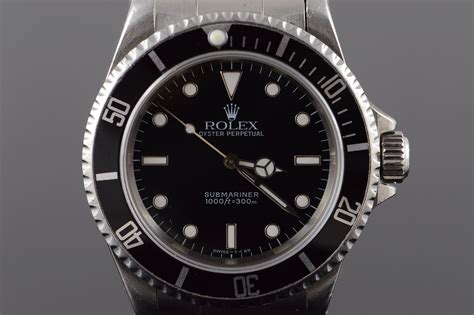 Rolex 38mm Submariner U Series 1997 Black Dial & Bezel ...