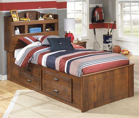 twin bookcase bed  underbed storage  signature