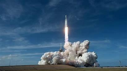 Falcon Heavy Rocket Powerful Liftoff 4k Wallpapers