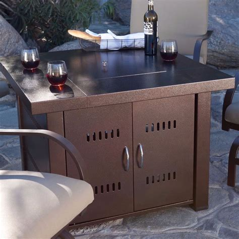 Outdoor Fire Pit Table Patio Deck Backyard Heater