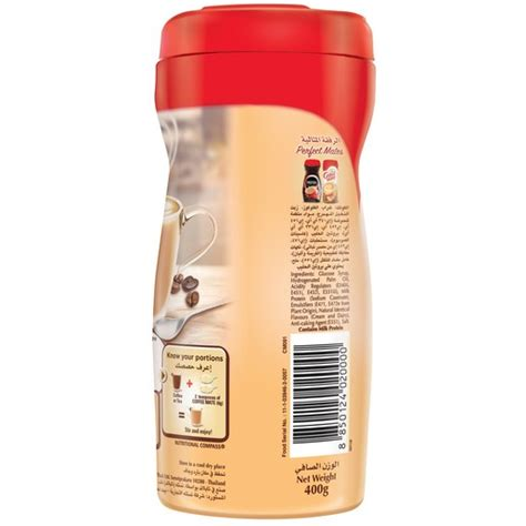 Coffee mate non dairy creamer on alibaba.com come in several types of packaging from low kilogram sachets to bulk tonnage supplies. Buy Nestle Coffee Mate Non Dairy Coffee Creamer Original 400g Online - Lulu Hypermarket Bahrain