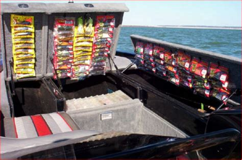 Boat Storage Ideas by Cool Bass Boat Tackle Storage Ideas Goodsgn