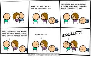 Cyanide and Happiness Ball Kicking - CollegeHumor Post