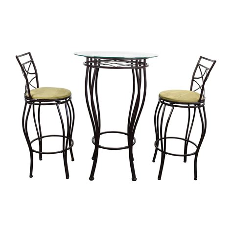 white 6 chair dining set second