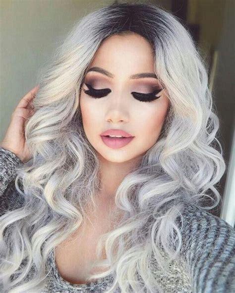 haarfarbe grau blond 1001 ideen f 252 r silberblond als haarfarbe die ihnen