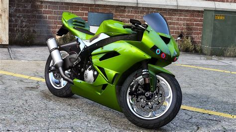 Modified Zx6r by Kawasaki Zx6r Modified V2 For Gta 5