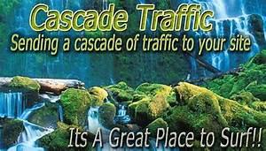Cascade Traffic Manual Traffic Exchange  Splash Page