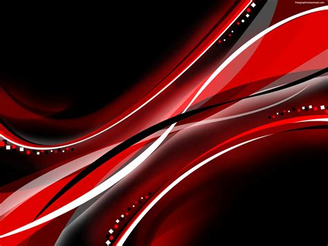 Black And Red Abstract Wallpaper