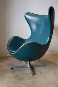 Arne Jacobsen Egg Chair Leather