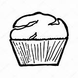 Muffin Drawing Background Vector Getdrawings sketch template