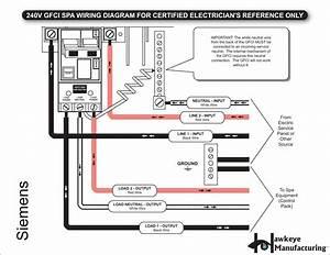 3 Wire 240v Gfci Breaker Wiring