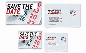 Save the date note card template word publisher for Business save the date templates free